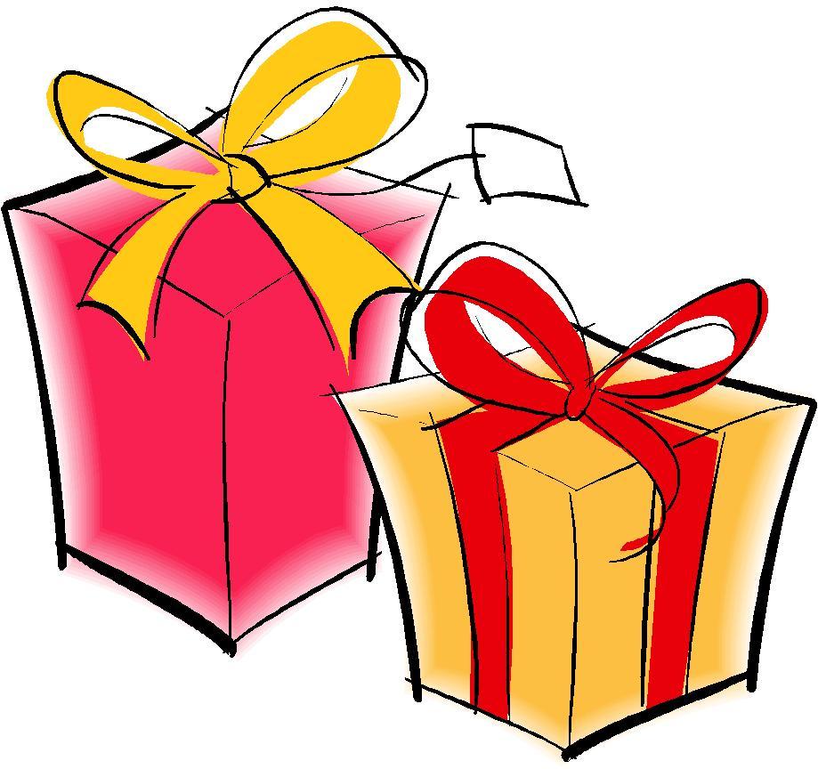 Картинки подарков на день рождения рисунки
