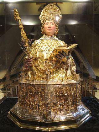 Relique de Saint-Lambert (Trésor de la Cathédrale)